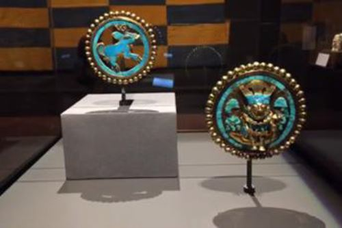 Réplicas de las joyas del Señor de Sipán podrían lucirse en la tierra de los faraones en el 2020.