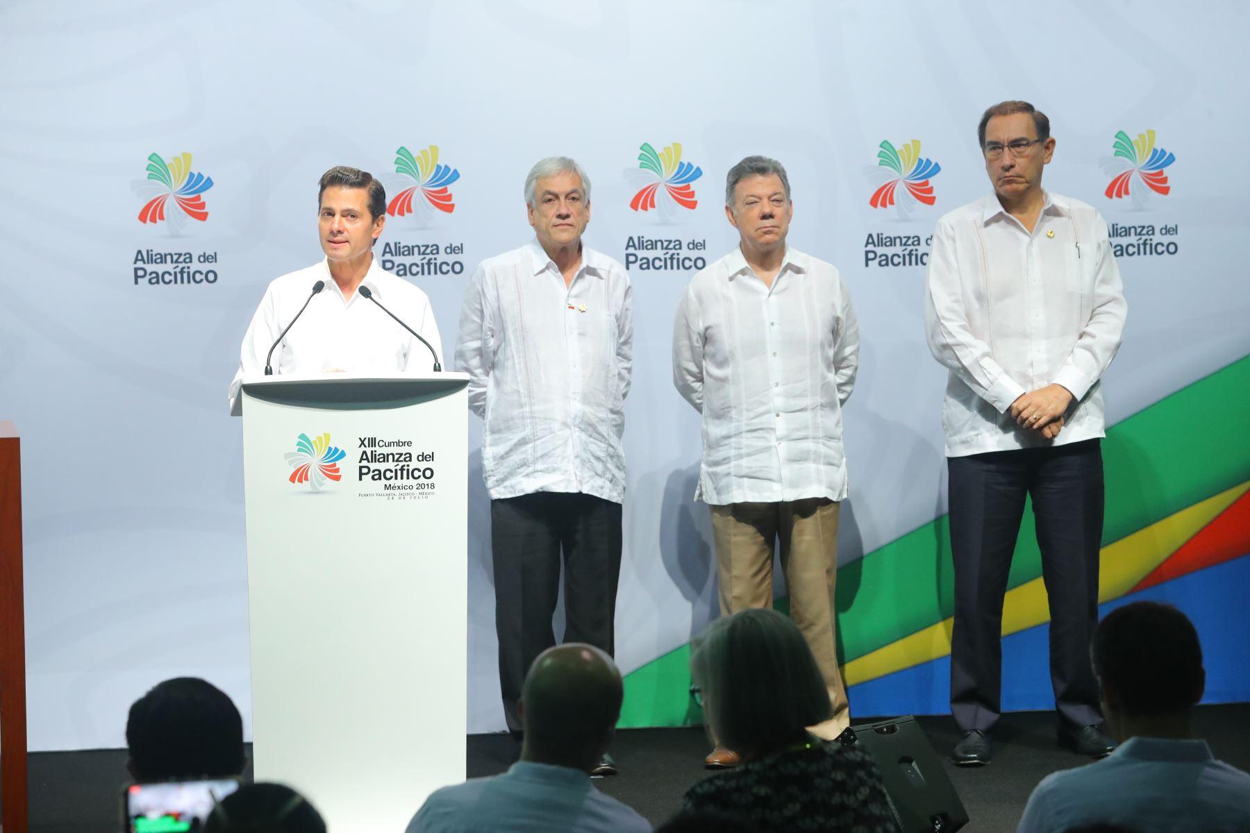 Reunión de presidentes de la Alianza del Pacifico y Mercosur. Foto: ANDINA/Prensa Presidencia