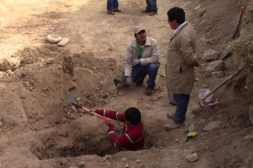 Especialistas del Ministerio de Cultura confirmaron hallazgos de restos arqueológicos cerca de Wariwillka.
