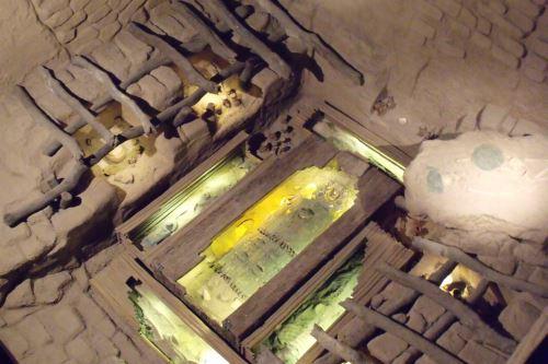 Réplica de la tumba del Señor de Sipán.