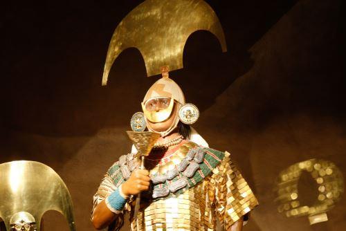 Réplica del Señor de Sipán encabezará muestra en Arequipa.