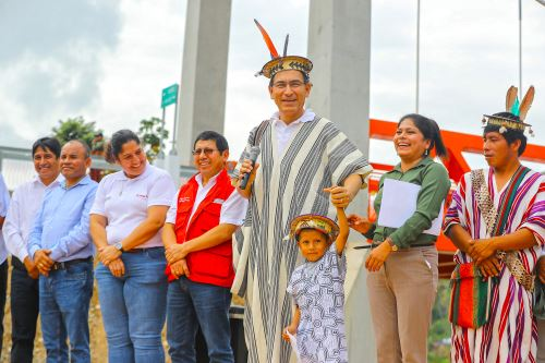 Presidente Martín Vizcarra encabezó Muni Ejecutivo en Villa Rica, Pasco.