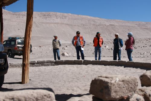 Expertos del proyecto minero Zafranal realizarán trabajos de mejoramiento de infraestructura turística en Toro Muerto.