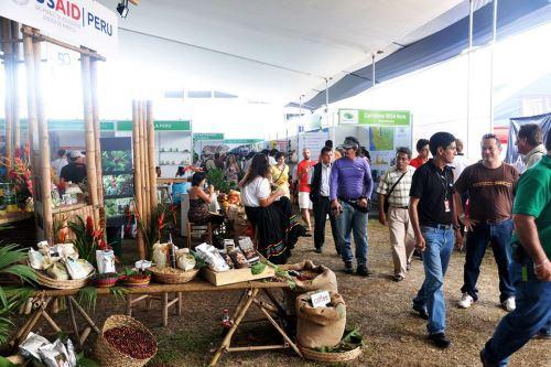 En Expo Amazónica participarán productores de las regiones de la selva.