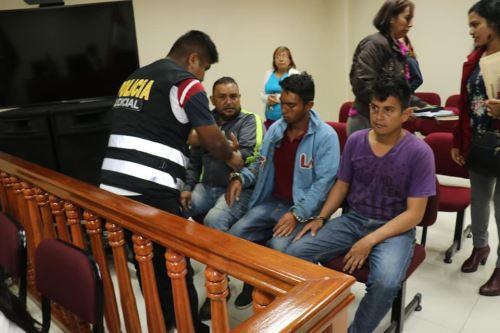 Juzgado halló responsables a los tres venezolanos acusados de robo agravado.