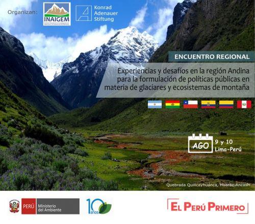En el encuentro participarán expertos y científicos de América del Sur.