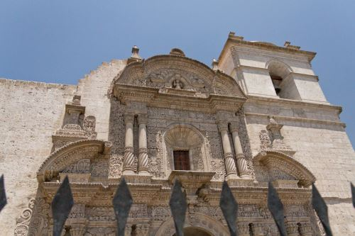 Iglesia de la Compañía de Jesús, Arequipa. Foto: Renzo Tasso/Promperú