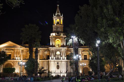 Catedral de Arequipa. Foto: Enrique Castro Mendívil/Promperú