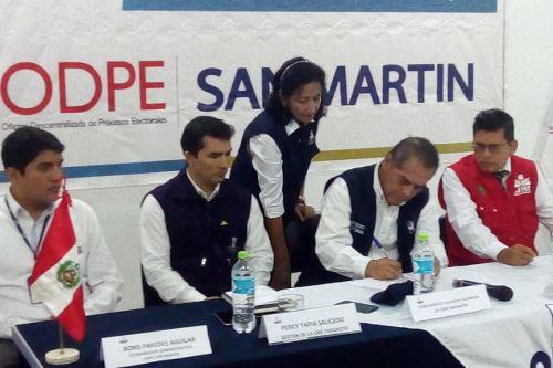 Avanza proceso electoral para comicios municipales y regionales.