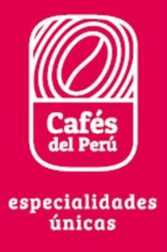 Este es el distinto o marca Cafés del Perú.