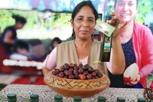 Emprendedores rurales de Ucayali exhiben sus productos en ExpoAmazónica.