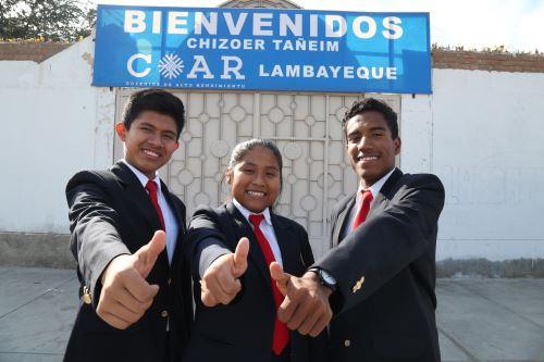 Escolares lambayecanos presentaron una propuesta innovadora en Olimpiada Internacional de Normalización.