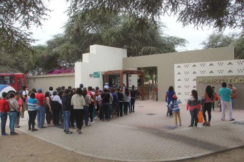 El Museo de Sitio de Túcume recibió este año cerca de 32,000 visitantes.