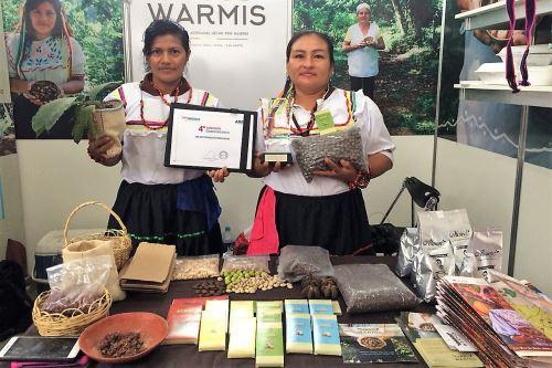Chocolate con shica shica fue la sensación en ExpoAmazónica.