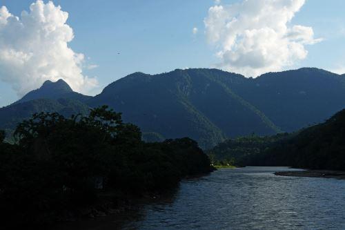 Hermosa vista del Parque Nacional Tingo María.
