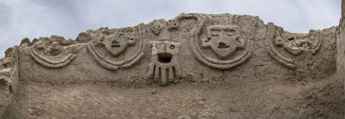 Muro hallado en Vichama tendría una antigüedad de más de 3,800 años.