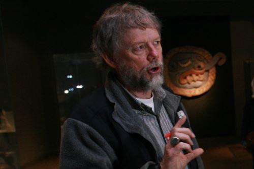John Rick, arqueólogo estadounidense, dirige la investigación en Chavín de Huántar.