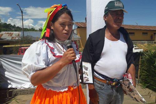 Se realizó un festival gastronómico y concurso de platos elaborados con sacha inchi en Lamas.