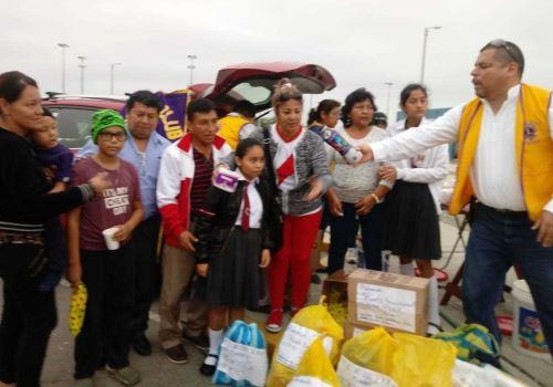 Organizaciones civiles brindan ayuda humanitaria a venezolanos.