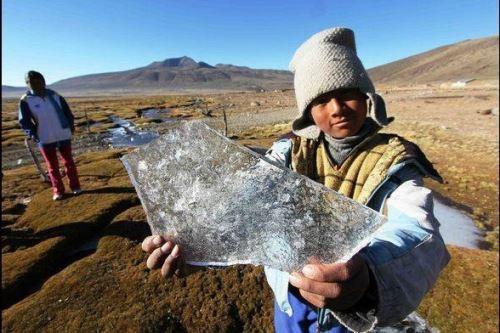 En Patahuasi, Arequipa, se registró la temperatura más baja del país al reportar 19.9 grados bajo cero.