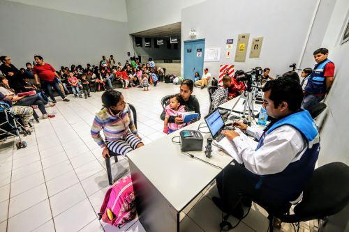 Un total de 184 niños venezolanos recibieron atención en Cuna Más Tumbes durante los primeros 13 días.