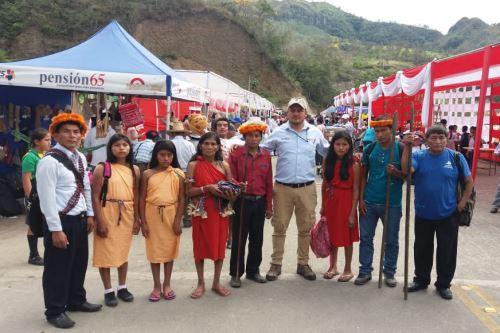 Usuarios de Pensión 65 mostraron sus costumbres y tradiciones locales.