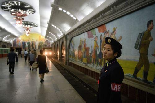 Estación de metro de Pyongyang