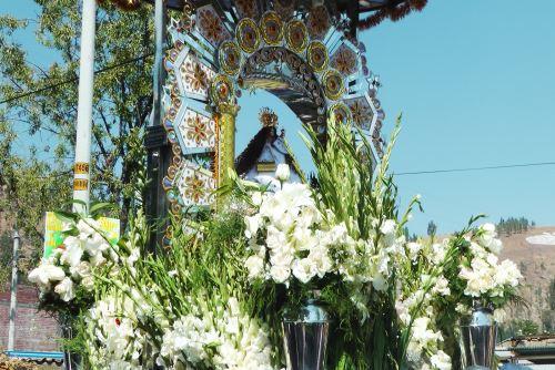 La Virgen de Cocharcas es la patrona de los pueblos del Valle del Mantaro.