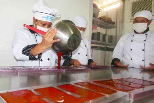 Mujeres productoras de cacao de San Martín ahora impulsan derivados para generar más ingresos.