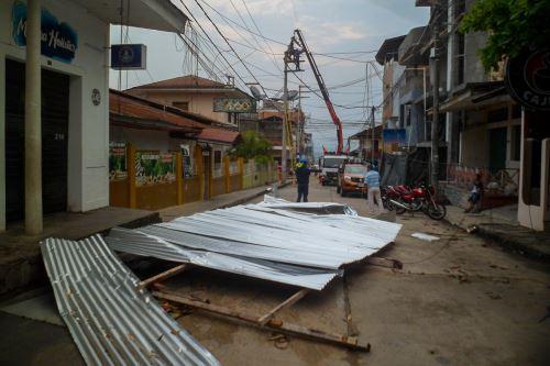 Los eventos naturales causaron daños cuantiosos en San Martín.