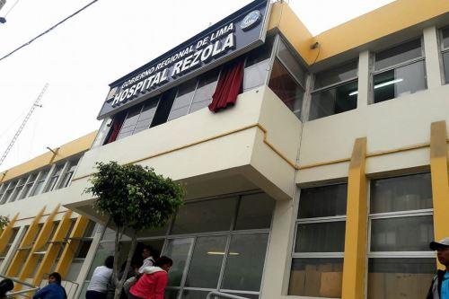 En el Hospital Rezola de Cañete se encuentra internado Leonardo Simeone Agurto Huapaya.
