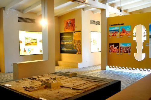 Recinto museográfico relata la historia del sitio arqueológico de Chotuna-Chornancap.