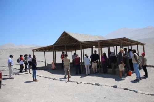 Con inauguración de Centro de Información se inició puesta en valor de complejo Toro Muerto.