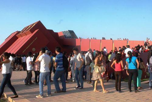 Miles de turistas recibe cada año el Museo Tumbas Reales de Sipán, en la región Lambayeque.