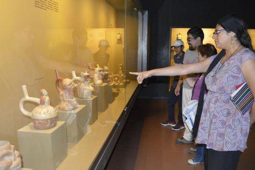 Museo Tumbas Reales de Sipán, en la región Lambayeque, recibe a miles de turistas nacionales y extranjeros cada año.