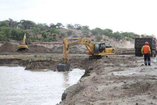 Minagri acelera trabajos de reconstrucción en regiones Tumbes, Piura y Lima.