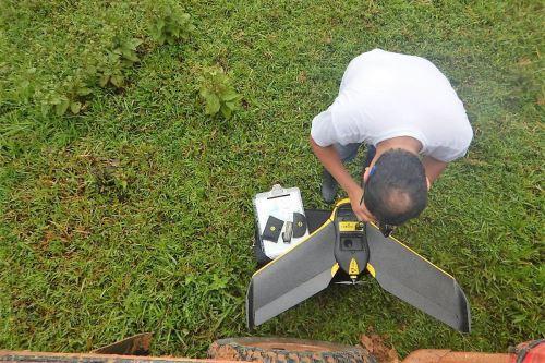 Con la tecnología satelital se busca mejorar la producción y la administración de recursos agrícolas.