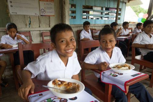 Cerca de 97,000 nuevos usuarios reciben desayunos y almuerzos escolares.