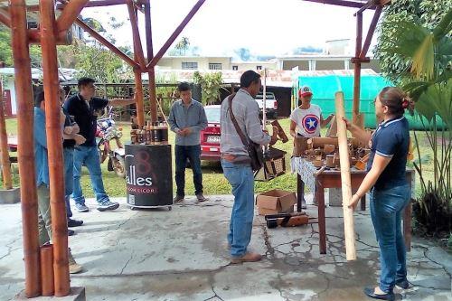 San Martín Promueve Uso Del Bambú Para Construir Módulos