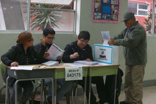 Las actas observadas de las elecciones municipales y regionales deben ser evaluadas y resueltas por los JEE.
