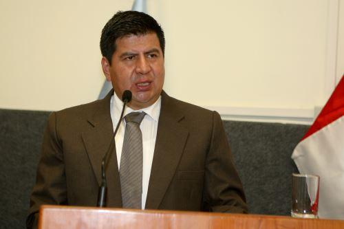 Maciste Díaz repite como gobernador regional de Huancavelica. Esta vez para el período 2019-2022.