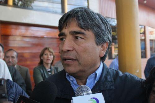 Luis Wilson Ugarte es el segundo candidato que disputará la segunda vuelta electoral en Cusco.