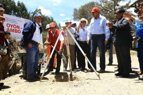 Más de S/ 372 millones invertirá el MTC para mejorar esta vía que será alternativa a la carretera Central.
