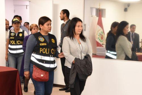 Keiko Fujimori fue detenida por orden del juez Richard Concepción Carhuancho.