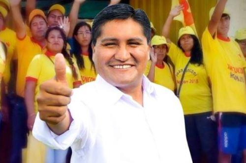 Juan Tonconi Quispe, candidato a la gobernación regional de Tacna.