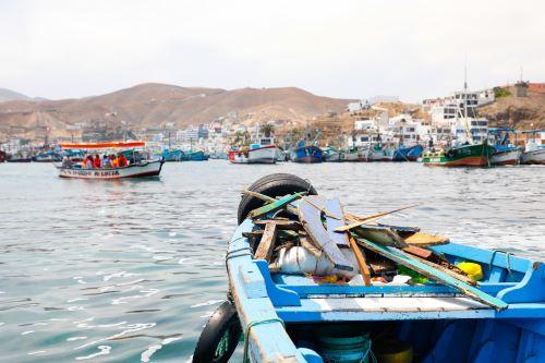 En la jornada de limpieza del mar de Tumbes se espera participación de pescadores y voluntarios.