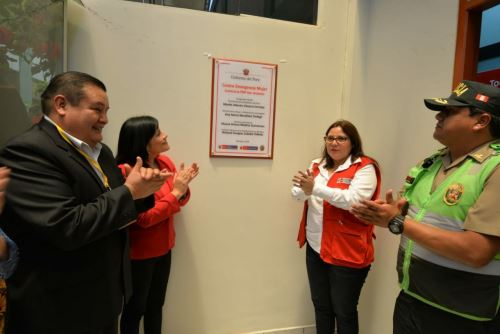 Las víctimas de violencia recibirán atención integral en el CEM inaugurado en la comisaría San Antonio, en la región Moquegua.