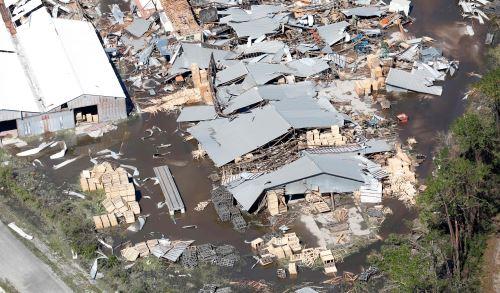 Imágenes aéreas del centro de Florida