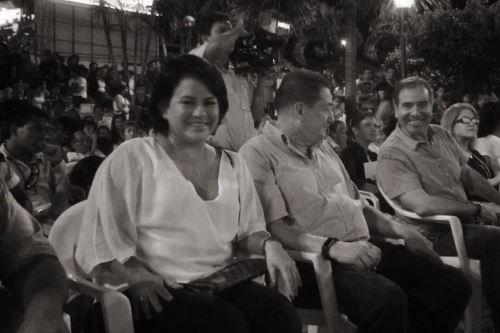 Marisol Valles Chong y su esposo el congresista por San Martín, Rolando Reátegui.