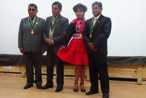 La tesis de Blanca Quispe está basada en entrevista a locutores aimaras.